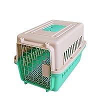 「美しいです」ペットケージ 犬猫兼用 持ち運び用 ケージ キャットケージ (L,写真色E)