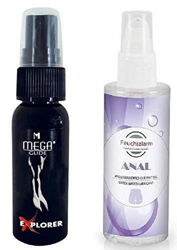Analspray Anal Relax Entkrampfung Spray (30 ml.) Set mit Analgleitgel Gleitgel (100ml.) Pflegecreme, für entspannten, Analverkehr für Frauen Männer