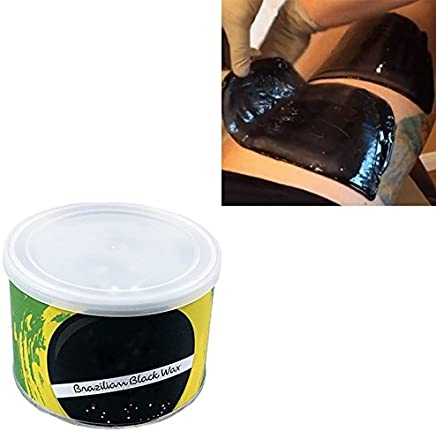 takestop® CERA CERETTA brasiliana barattolo black wax INDOLORE DEPILATORIA LIPOSOLUBILE 400 GR PER SCALDACERA DEPILAZIONE CALDO
