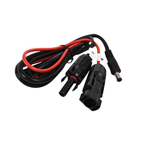 ULTECHNOVO Solar Verlängerungskabel Mc4 Stecker Dc5521 Stromausgangsleitung Solarenergie Stecker Adapter für Indoor Outdoor