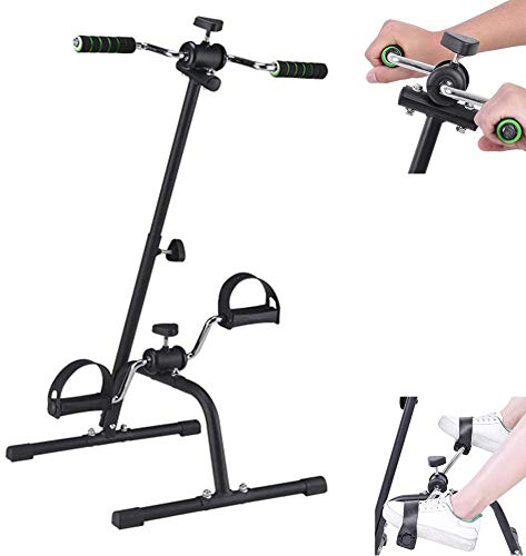 Hometrainer arm en been Exerciser - Arm & Been Oefening Peddler Machine fitnessapparatuur voor senioren en ouderen - Easy Home Exercise Bike