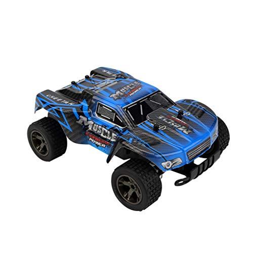 TwoCC Rc Auto, 2811 1:18 Rc Auto 2,4G 20 Km/H Nutzfahrzeug Neue Sport Fernbedienung Spielzeug Auto Drift Fahrzeug Klettergeschwindigkeit Rennwagen (Blau)