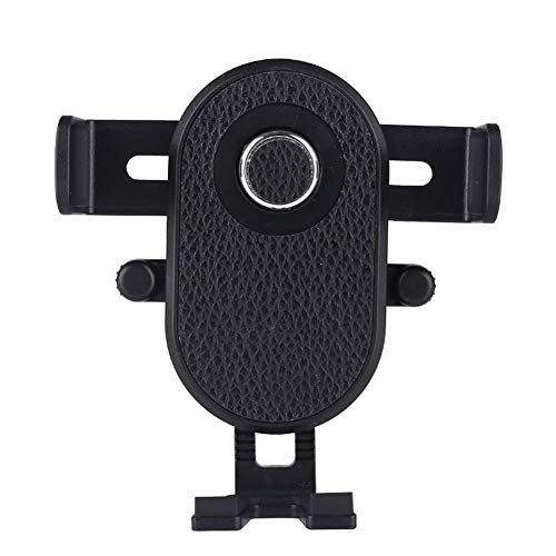 Kakoop Soporte Movil Coche Porta Movil para Coche 360° Rotación Ventilación Soporte Teléfono Coche (Negro)