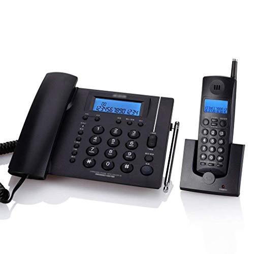 WBDZ Teléfonos con Cable, teléfono inalámbrico, Equipo para niños, Oficina en casa, teléfono Fijo inalámbrico, teléfono Fijo, máquina Principal (Color: A)