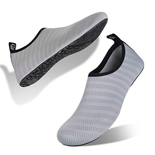 Zapatillas de deporte acuáticas para mujer, para buceo o playa, de Snorkeling Size: 40.5/41.5 EU