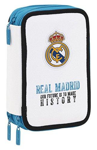 Real Madrid - Plumier Triple 41 Piezas (SAFTA 411754057)