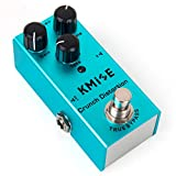 Kmsie Distortion Pedal for Electric Guitar Mini Single Type DC 9V True Bypass (Crunch distortion)