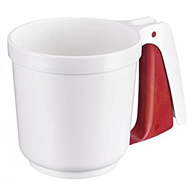 Westmark 32142270 Flour-And Icing Sifter, White/Red