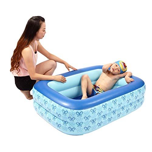Zwembad Kinderen Kinderzwembad Kid Dik Zwemmend Opblaasbaar Zwembad, Zomer Waterspeelgoed, Feestartikelen Voor Baby Kinderen Volwassene, 110 X 85 X 35 Cm