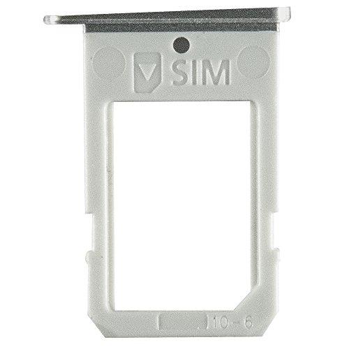 AGI Kompatibel SIM Tray Black für Samsung G925F Galaxy S6 Edge kompatiblen