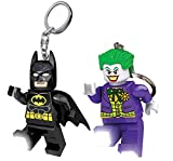 LEGO Pack Porte-clés Lumineux DC Comics Super Heroes - Batman + Joker