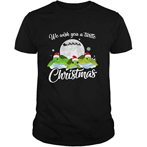 We Wish You A Turtle Christmas Shirt, Hoodie, Sweatshirt for Mens Womens Ladies Kids