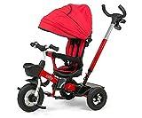 Milly Mally 5901761124538 Three-Wheel - Bicicleta con ruedas, color rojo