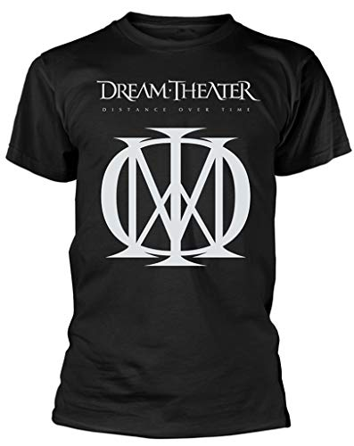 Dream Theater 'Distance Over Time (Logo)' T-Shirt (Large)
