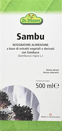 Dr Dunner Sambu bevanda depurativa a base di Sambuco 500 ml