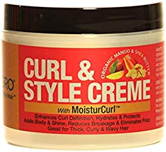 """Good2Gro Curl & Style Creme""""Moisturizing Curl Defining Creme For High Porosity Thick and Medium Hair Textures"""" 4oz."""