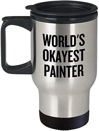 Grappige schilder reizen mok huis schilder gift werelden oke schilder