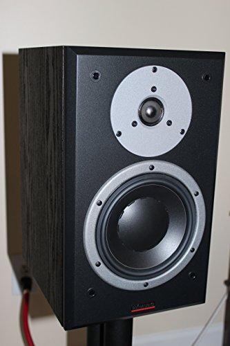 'Dynaudio DM 2/7150W schwarz Lautsprecher–Lautsprecher (Universal, XLR, Oberseite Tisch-/Bücherregal, 2,79cm (1.1