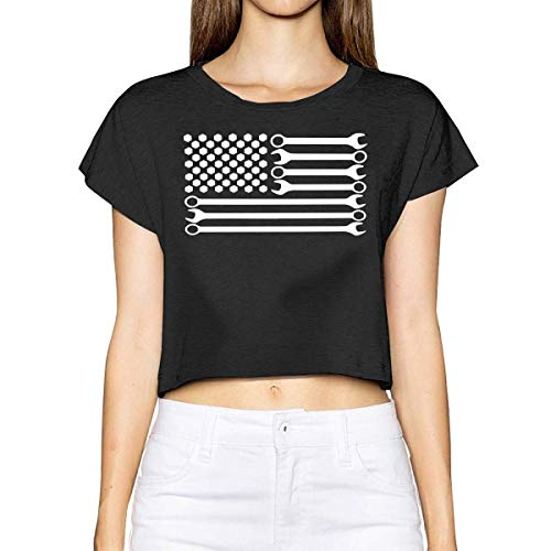 Mechanic USA Flag Short-Sleeves Shirt Baby Boy Toddlers