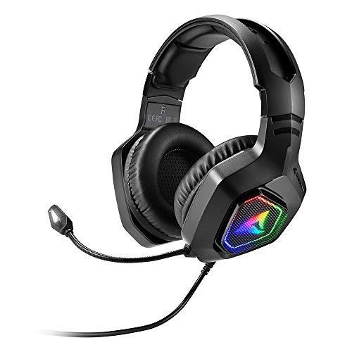 Sharkoon Rush ER30, Stereo RGB Gaming Headset, normal