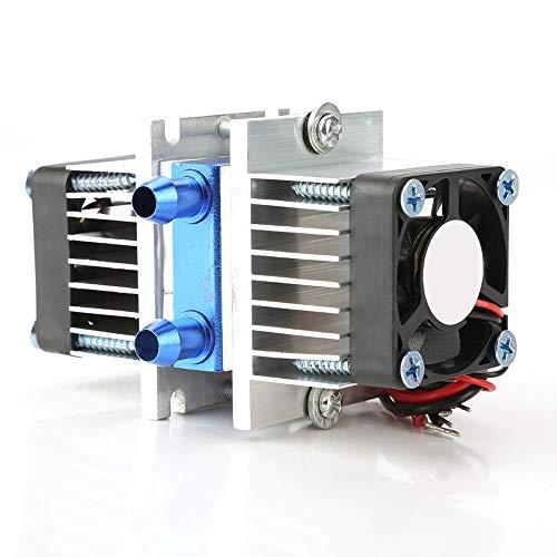 Weikeya Refrigeración de semiconductores, Enfriador de refrigeración semiconductora Potente 9.8 * 6 * 4.6 cm con plástico más componentes electrónicos