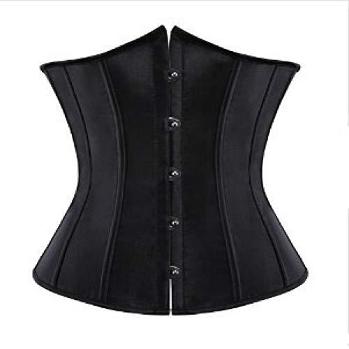 LIUJIU Shapewear Mujer Bustier Body Adelgazar Busto Abierto Shaper Unterwäsche Modellierung,negro,XXXXL