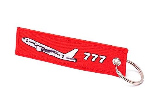 Remove Before Flight Schlüsselanhänger in Rot • Boeing 777 Edition (Boeing 777