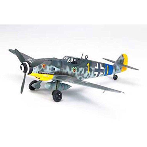 TAMIYA 61117 - 1:48 Deutsche Bf109 G-6 Messerschmitt, Modellbau, Plastik Bausatz, Hobby, Basteln, Kleben, Modellbausatz, Modell, Zusammenbauen