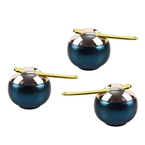 T TOOYFUL 3x8ml Pots de Voyage Conteneurs Cosmétique Vide Récipient Rechargeable
