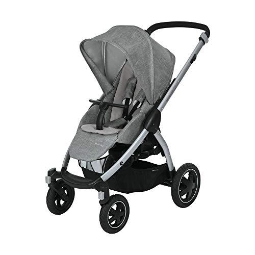 Bébé Confort Stella, Poussette Tout-Terrain, Maniable et Pratique, de la Naissance à 3,5 ans (0-15kg), Nomad Grey