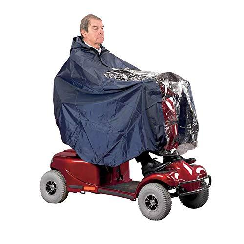 Leyeet Poncho con capucha capa de cobertura impermeable completa para vespas viejas eléctricas cuatro ruedas ⭐