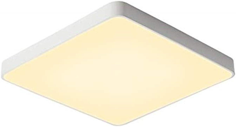 JINWELL LED Ultra-dünne Deckenleuchte einfache und Moderne LED Kreative Platz Deckenlampe 5 cm Kantenstrke Wohnzimmer Schlafzimmer Arbeitszimmer Gang Balkonbeleuchtung (Farbe   Remote Control 40cm)