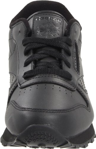 Reebok Reebok Classic Leather Shoe,Black/Black/Black,4.5 M US Toddler