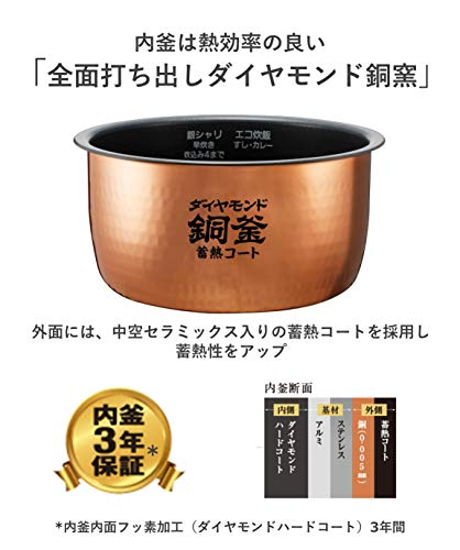 パナソニック炊飯器5.5合IH式ブラックSR-HB109-K