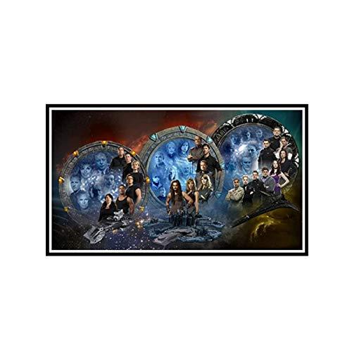 Stargate Universum Robert Carlyle Space USA TV Wandkunst Poster Gemälde HD-Druck Wohnzimmer Wohnkultur -24x36 Zoll No Frame 1 Stck