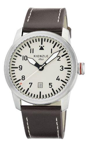 Kienzle Herren-Armbanduhr XL KIENZLE CORE Analog Quarz Leder K3081019061-00318