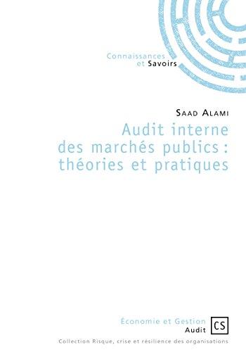 Audit interne des marchés publics