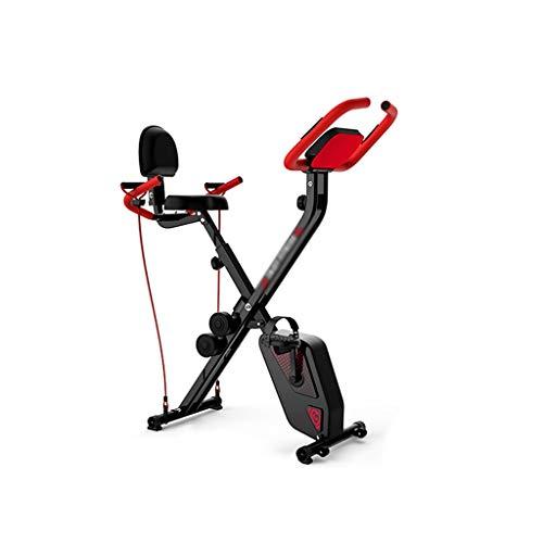 NRR Bicicleta de Ejercicio magnética Plegable, Cuerpo Entero, Entrenamiento Integral, Peso, Peso, 120 kg de Ciclismo de Interior