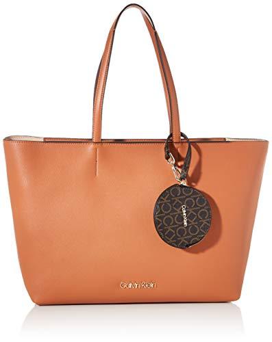 Calvin Klein Ck Must Shopper Md - Borse Tote Donna, Marrone (Cuoio), 1x1x1 cm (W x H L)