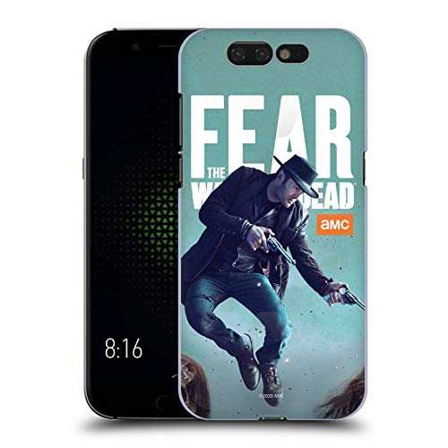 Head Hülle Designs Offizielle Fear The Walking Dead Garrett Darsteller Harte Rueckseiten Handyhülle Hülle Huelle kompatibel mit Xiaomi Black Shark