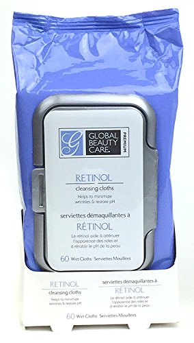 Global Beauty Care Premium Facial Cleansing Cloth (60 Count)