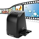 Plyisty Escáner de película de 8MP, Visor de escáner de Diapositivas de película Digital de 35 mm y 135 mm, para películas positivas y negativas y de Diapositivas a Fotos JPG Digitales HD