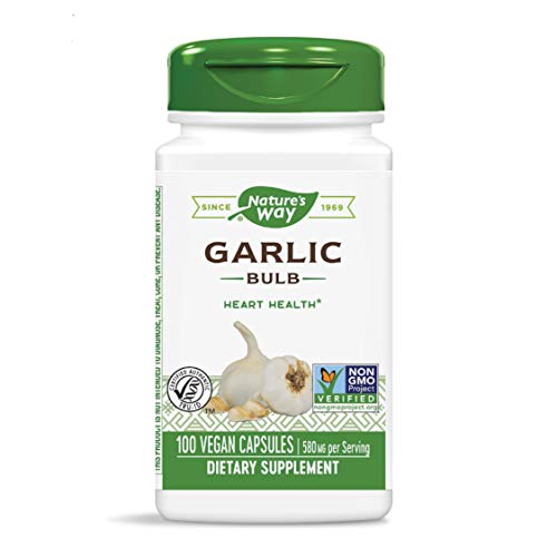 10. Nature's Way – Garlic Bulb