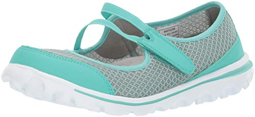 PropÃt womens Travelactiv Mary Jo Sneaker, Turquoise, 9 Wide US