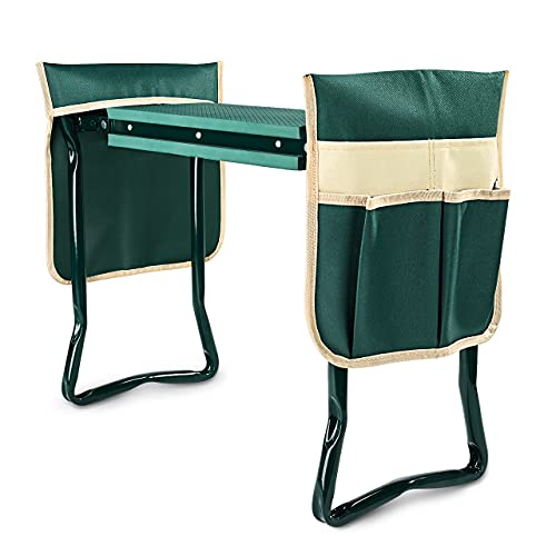 KVR Garden Kneeler and Seat with 2 Pouches