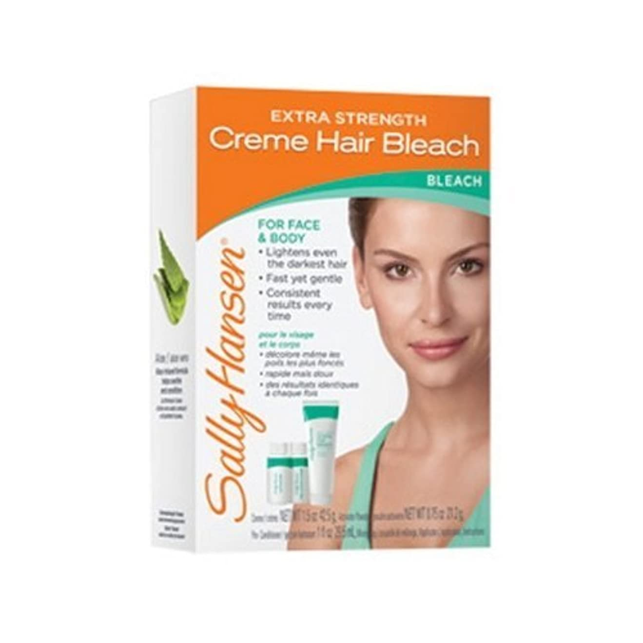 テナント構造的不快な(3 Pack) SALLY HANSEN Extra Strength Creme Hair Bleach for Face & Body - SH2010 (並行輸入品)