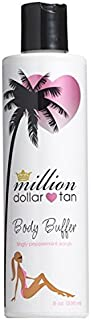 Body Buffer by Million Dollar Tan- Tingly Peppermint Exfoliating Scrub (8 oz)