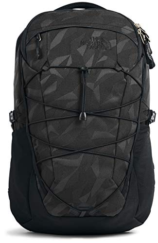 The North Face Borealis Men's Backpack, TNF Black Camo Jacquard/TNF Black