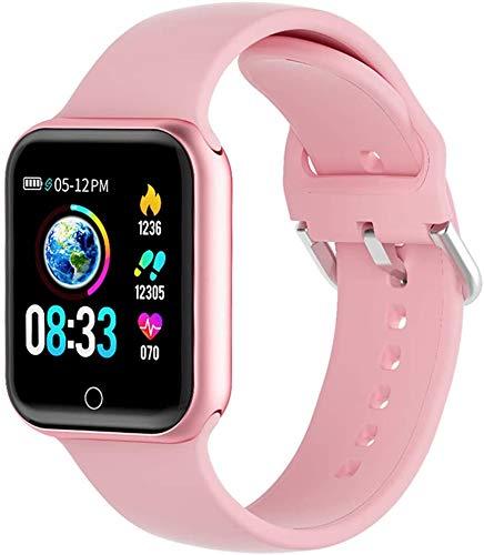 Smartwatch, LIFEBEE Fitness Armband Tracker 1,4 Zoll Touchscreen Uhr mit Blutdruckmessung IP68 Wasserdicht Sportuhr Smart Watch Pulsuhr Schlafmonitor Schrittzähler Armbanduhr für Kinder Damen