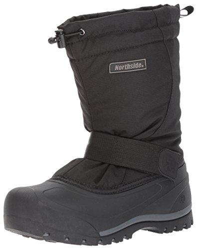 Northside Men's Alberta II Snow Boot, Onyx, 9 M US